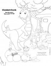 Yummy Stories - coloring page